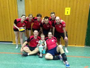 Die Landespokal Mixed Sieger 2016