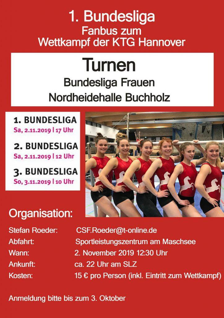 Fanbus 1.Bundesliga Turnen