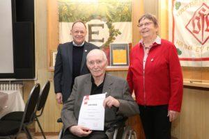 70 Jahre Mitgliedschaft
